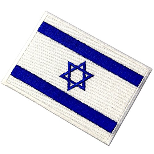 Israel Embroidered National of Iron Sew On