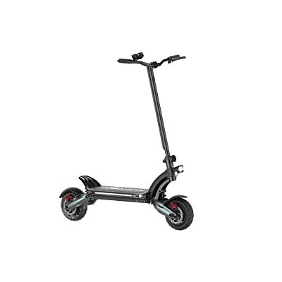 "NANROBOT D6+ City Electric Scooter -Portable Folding 2000W Motor Power 52V 26AH 10"" Tires 40 MPH : Sports & Outdoors"
