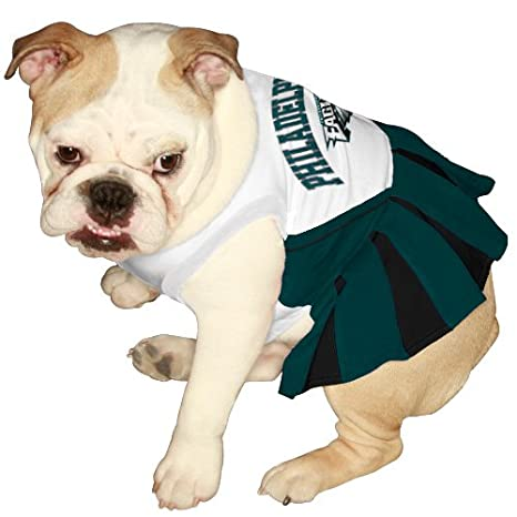 check out 96556 1c590 Pets First NFL Philadelphia Eagles Dog Cheerleader Dress, X-Small