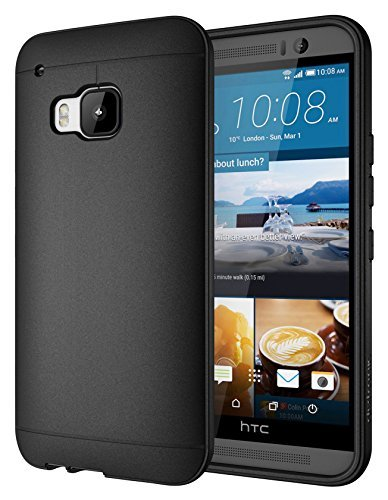 TPU Silicone Back Case for HTC ONE M8 (Black) - 8