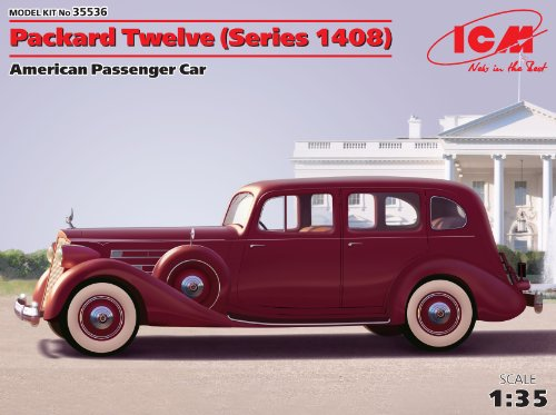 ICM Models Packard Twelve Series 1408 Car for sale  Delivered anywhere in USA