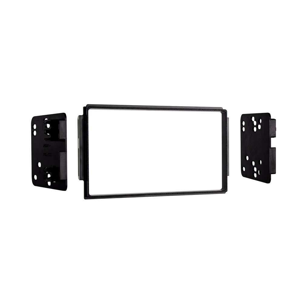 Metra 95-1006 ISO Double DIN Dash Kit for Select Kia Sorento EX 2003-2006 with Factory Sport Package Metra Electronics Corp Black