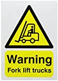 SIGNSLAB A5 WARNING FORK LIFT TRUCKS S/A