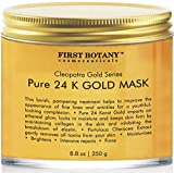 Image of The BEST 24 K Gold Facial Mask 8.8 oz - Gold Mask for Anti Wrinkle Anti Aging Facial Treatment, Pore Minimizer, Acne Scar Treatment & Blackhead Remover