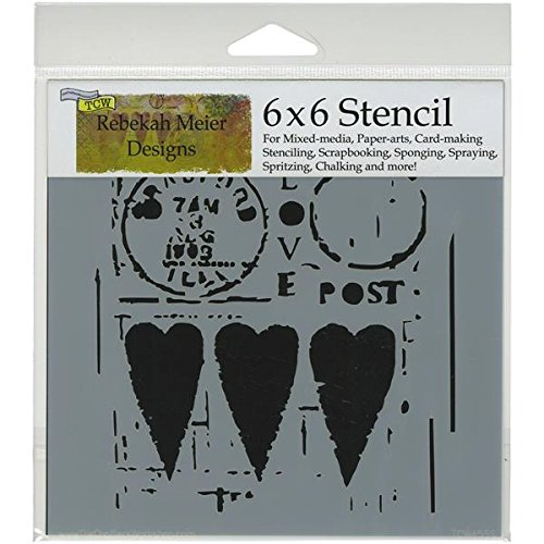 crafters workshop template 6 by 6inch love post sales up 1