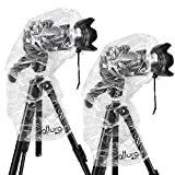 "Photo : (2 Pack) Altura Photo Rain Cover for DSLR Cameras with Lenses Up to 18"" Long"