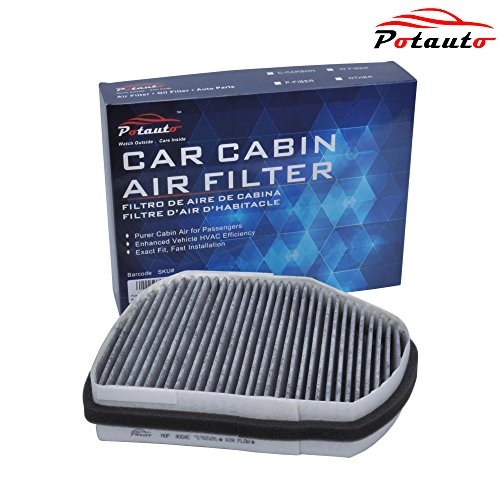 POTAUTO MAP 4004C Heavy Active Carbon Car Cabin Air Filter Replacement for CHRYSLER Crossfire, MERCEDES BENZ C CLK SLK Class