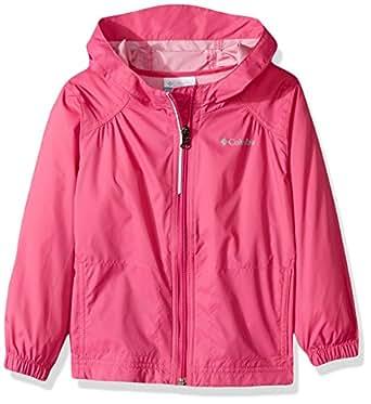 Columbia Girls' Little Switchback Rain Jacket, Pink Ice, 2T