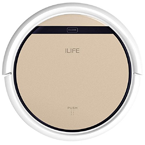 ILIFE V5s Pro Robot Vacuum Mop Cleaner with Water Tank, Automatically Sweeping Scrubbing Mopping Floor Cleaning Robot Voltage=100 - 240V
