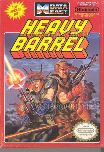 Heavy Barrel Nintendo Nes