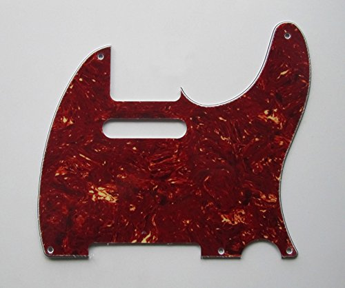 Mighty Mite Humbucker - bangdan Vintage 5 Hole Tele Style Pickguard, 1pcs Brown Tortoise