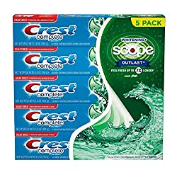 Crest Complete Multi-benefit Whitening (5.8 Ounce, 5 Pack)