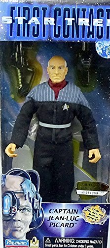 (Barbie Star Trek First Contact Captain Jean-luc Picard 9 Inch Figure)