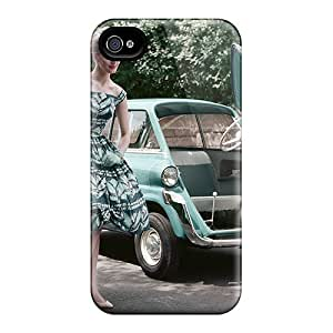 New Fashion Premium Tpu Case Cover For Iphone 4/4s - Bmw 600