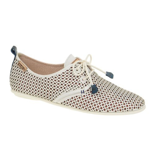 Pikolinos Calabria-917-4549- Zapatos de cordones para mujer White