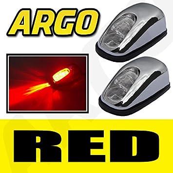 BMW/Mini Chrome LED rojo luz de neón delantero parabrisas arandela JETS boquilla Spray agua par: Amazon.es: Coche y moto