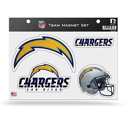 UPC 094746833824, NFL San Diego Chargers Bling Team Magnet Set