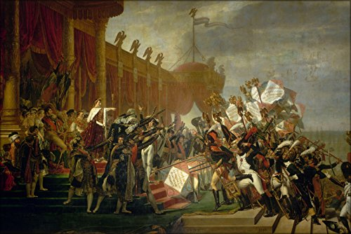 Poster Oath Of The Army To Napoleon Bonaparte By Jacques-Louis David