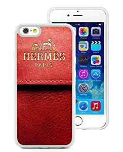 New Antiskid Designed Cover Case For iPhone 6 4.7 Inch TPU With Hermes 1 White Phone Case