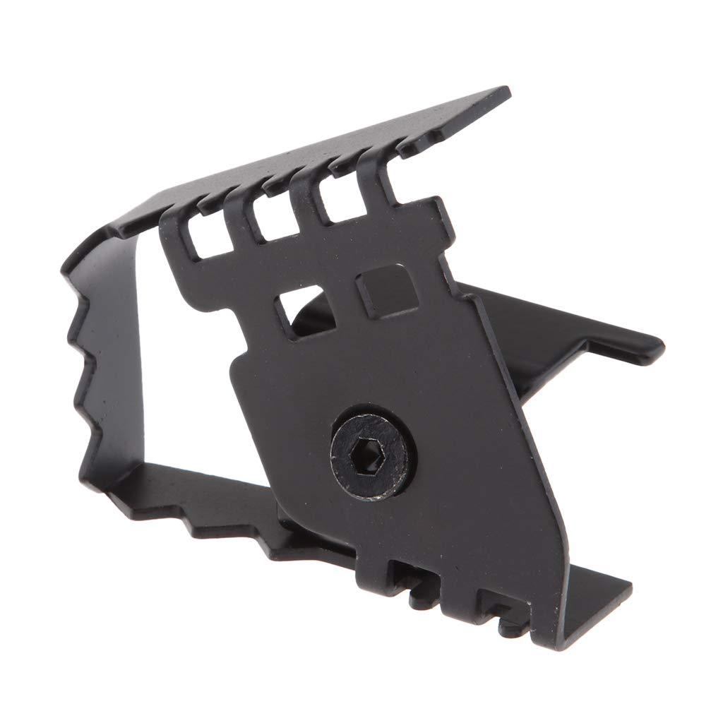 Homyl Black Rear Foot Brake Pedal Pad Enlargements Fit for BMW F650GS//F700GS//F800GSF//1200GS ADV