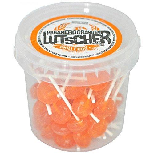 Habanero Orangen Lutscher, 2er Pack (2 x 250g)