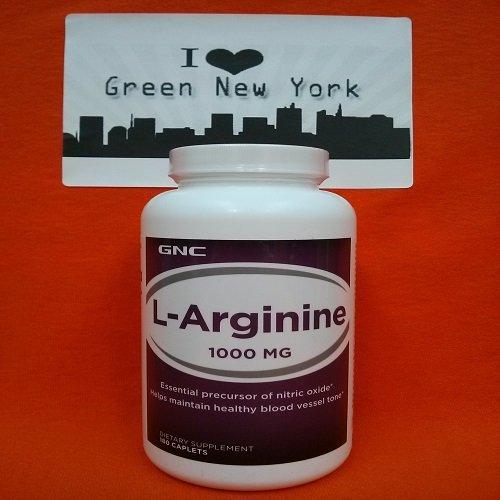 GNC L-arginina 1000 180 cápsulas