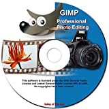 GIMP 2.10.4 - Ultimate Image Processing - Software Package includes 20,000 Clip Art Items - 10,000 Photo Frames - compatible with Adobe PhotoShop Elements / CS