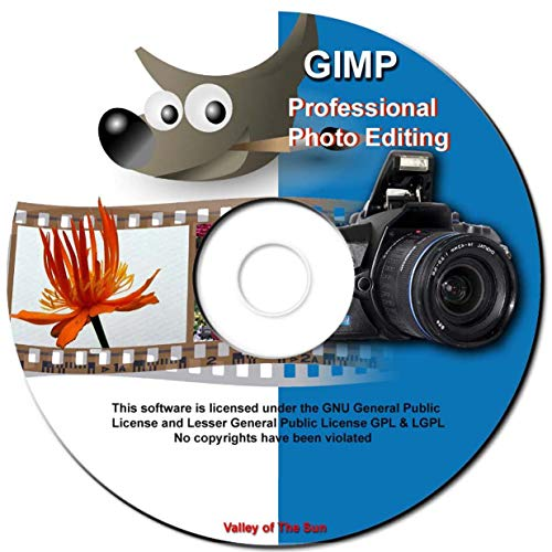 GIMP 2.10.4 - Ultimate Image Processing - Software Package includes 20,000 Clip...