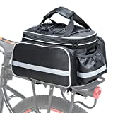 Cofit Bike Trunk Bag 25L / 68L, Extensible Large Capacity Bicycle Rear Seat Pannier as Commuter Bag Luggage Carrier