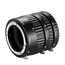 Neewer® 12mm,20mm,36mm AF Auto Focus ABS Extension Tubes Set for Nikon DSLR Cameras Such as D7200,D7100,D7000,D5300,D5200,D5100,D5000,D3300,D3200,D3000,D40,D40x,D100,D200,D300,D3,D3S,D700,D90