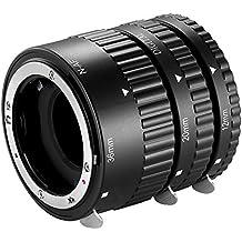 Neewer 12mm,20mm,36mm AF Auto Focus ABS Extension Tubes Set for Nikon DSLR Cameras(NW-N-AF1-BL) Such as D7200,D7100,D7000,D5300,D5200,D5100,D5000,D3300,D3200,D3000,D40,D40x,D100,D200,D300,D3,D3S
