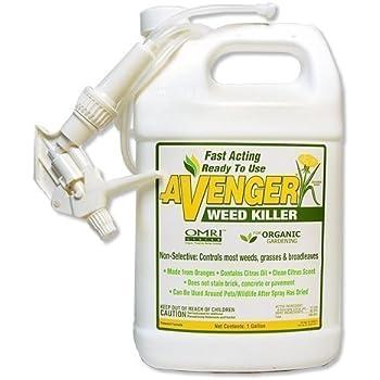 This Item Avenger Organics Weed Killer For Organic Gardening, 1 Gallon