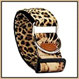 Feng Adjustable Leopard Print Pattern Collar for Pets Dogs