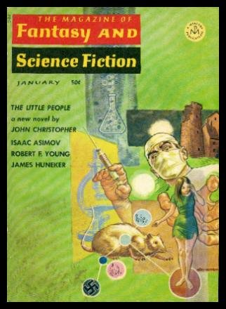 Books : FANTASY AND SCIENCE FICTION - Volume 32, number 1 - January 1967
