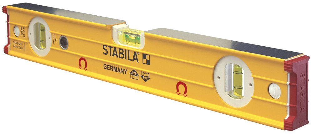 Stabila 38616 Type 96M Heavy Duty Magnetic 16'' Level