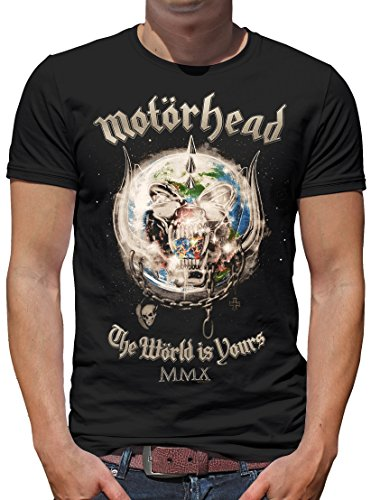 TLM Motörhead - The World is yours T-Shirt Herren S Schwarz