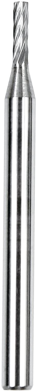 1//8 x 1//16 x 1//4 Dedeco 12105 Carbide Bur SA-41 Single-Cut Cylindrical Flat End