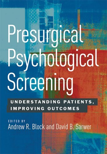 Presurgical Psychological Screening