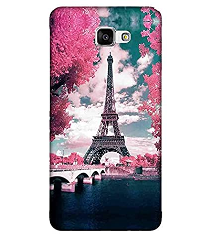 For Samsung Galaxy J5 Prime eiffel tower Printed Cell