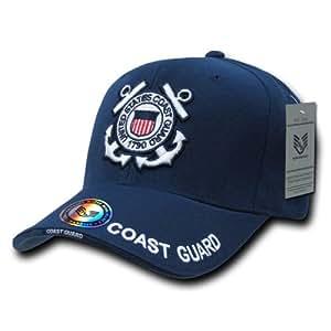 Rapiddominance Coast Guard The Legend Military Cap, Navy