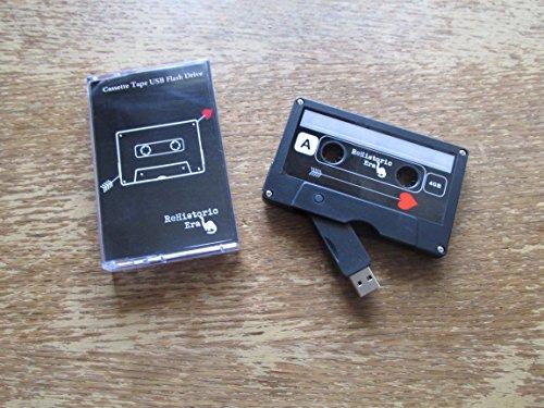 Cassette Tape USB Stick Flash Drive, 1 GB, 2.0 USB--Cupid Design, Data Storage, Flash Drive, Jump Drive, Computer Data, Music Storage, Picture Storage