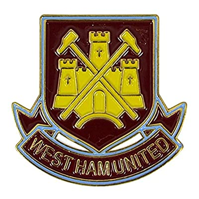 West Ham FC Official Metal Football Crest Pin Badge