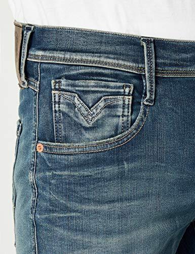 Anbass Replay blue Uomo Denim Jeans Blu 9 dPqxpwFq0