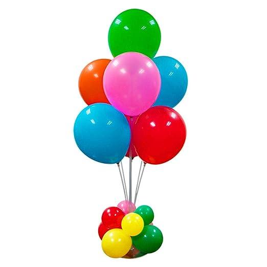 Surenhap balón Vara DIY Decorativo de Boda Cuadro Flotante Globos ...
