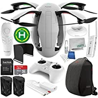 PowerVision PowerEgg Drone with 360 Panoramic 4K HD Camera and 3-axis Gimbal with Maestro + PowerVision Backpack Essential Accessory Bundle
