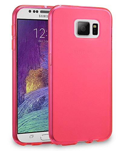 Samsung Galaxy Note 5 Premium Ultra Slim Thin Scratch Resistant TPU Gel Rubber Flexible Soft Silicone Skin Protective Case Shockproof Impact Resistant Cover Shell for Samsung Galaxy Note 5 Hot Pink