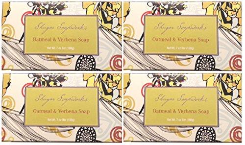 4-bar-set-venezia-soapworks-pure-vegetable-soap-oatmeal-verbena-7-oz-each-bar