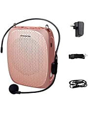 ZOWEETEK Voice Amplifier Microphone Headset,1800 mAh Rechargeable voice amplifier Portable for Teachers,Training,Meeting,Tour Guide,Yoga,Fitness,Classroom etc