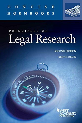 Olson Series (Principles of Legal Research (Concise Hornbook Series))
