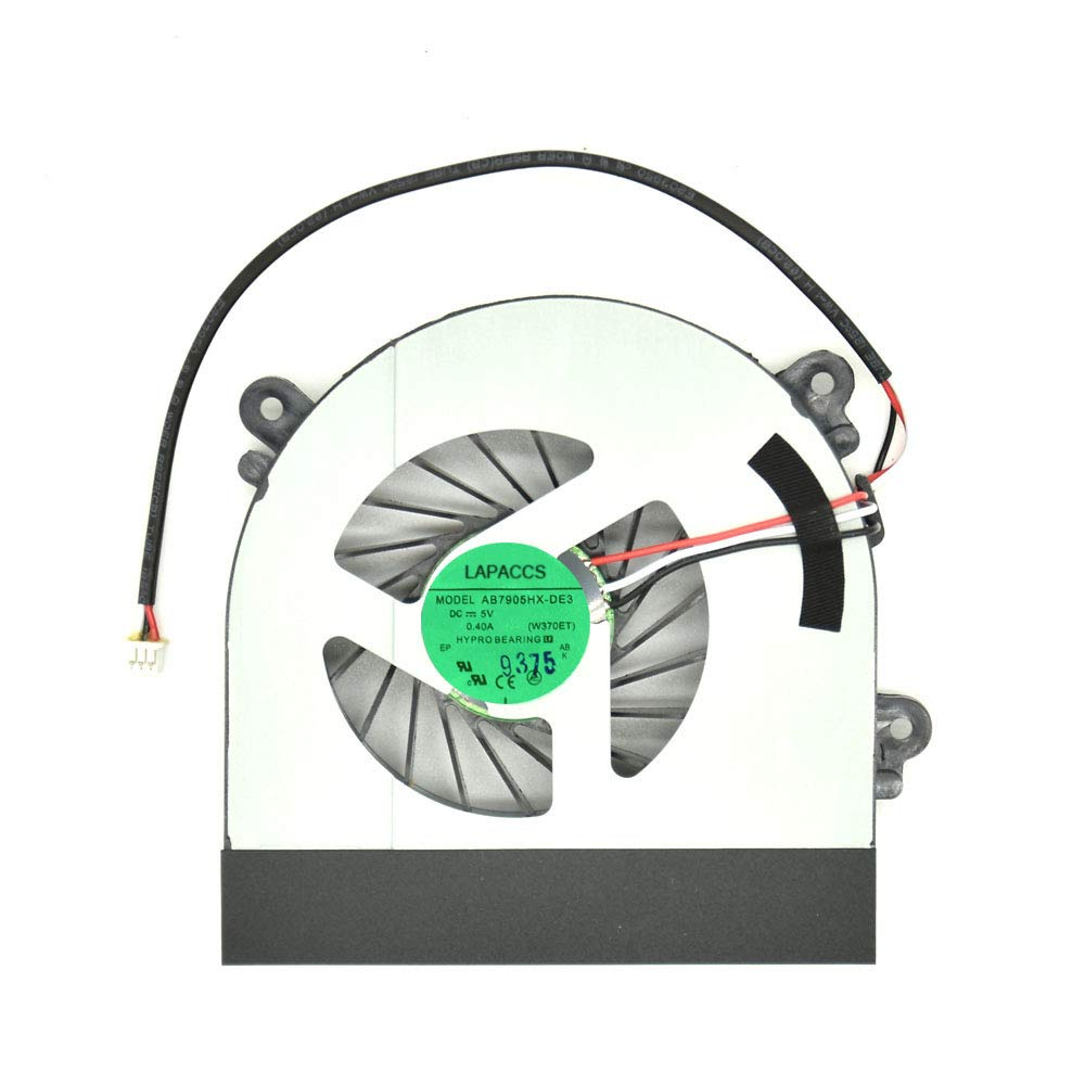 Cooler 4 Pins 4 Wires 0.4A para ADDA AB7905HX-DE3 6-23-AW15E-010 6-23-AW15E-011 6-31-W35SS-103 6-31-W370S-101 & Clevo W1